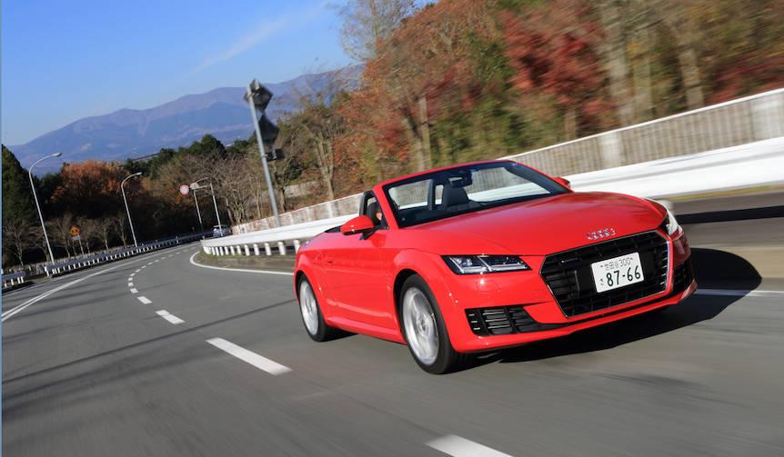 新型アウディ TTに試乗|Audi