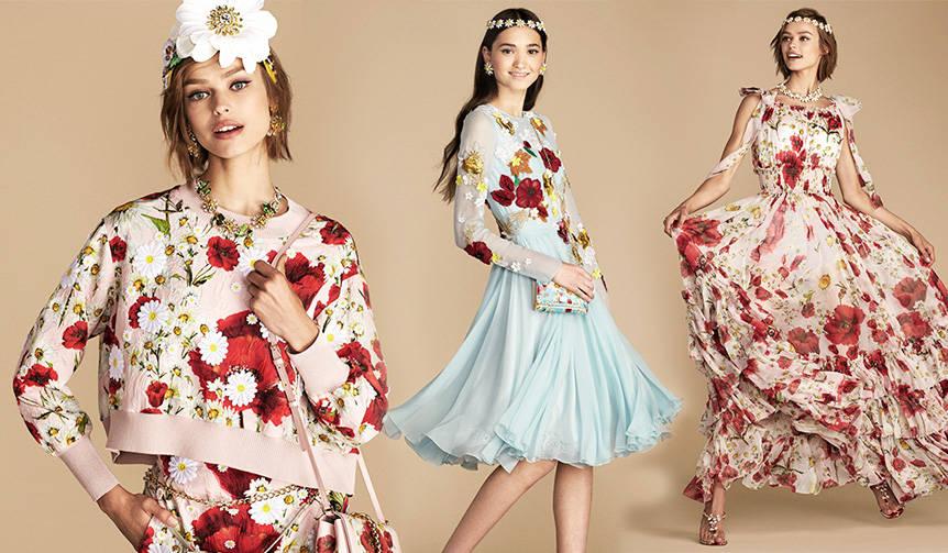春満開! ドルチェ&ガッバーナが日本限定コレクションを発表 DOLCE & GABBANA