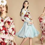 春満開! ドルチェ&ガッバーナが日本限定コレクションを発表|DOLCE & GABBANA
