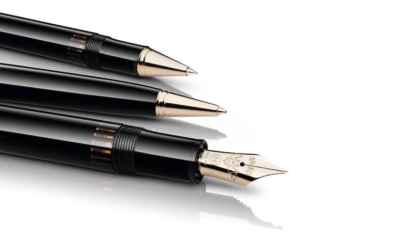 ワルツ王を称えたドネーションペン「ヨハン・シュトラウス」 MONTBLANC