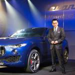 マセラティ初のSUV「レヴァンテ」がデビュー|Maserati