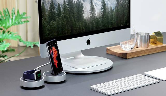 iPhoneやApple Watchをデスク上で美しく充電|JUST MOBILE