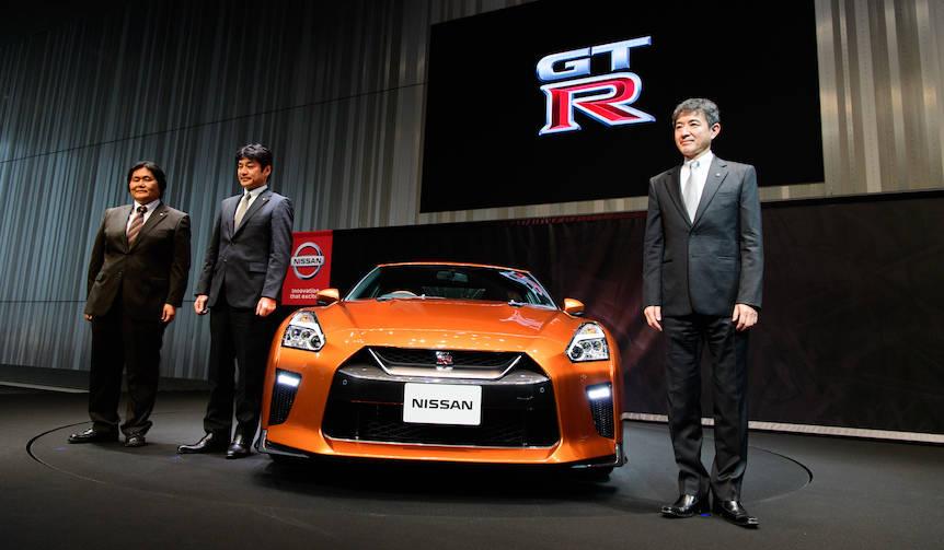 GT-R 2017年モデルを日本初披露|Nissan