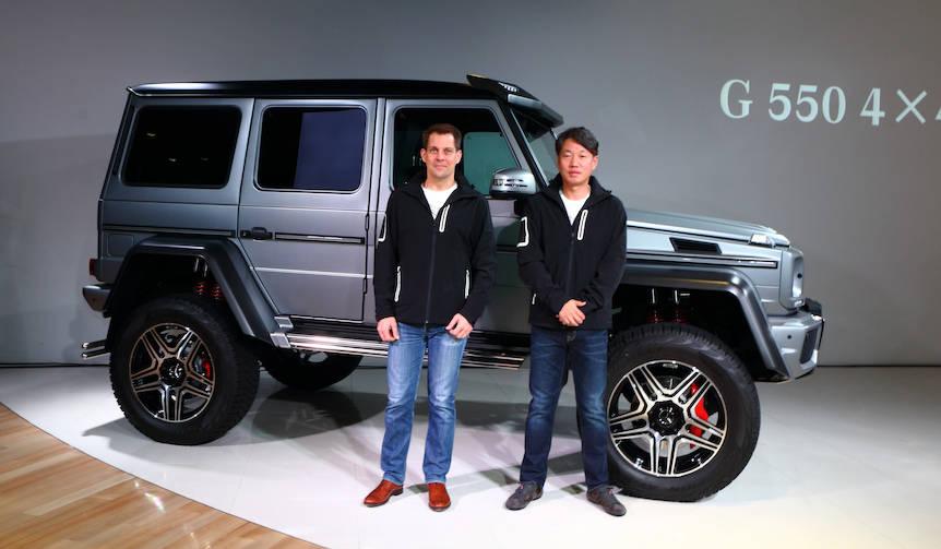 Gクラスに期間限定モデル「G 550 4×4²」を設定 Mercedes-Benz