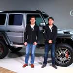 Gクラスに期間限定モデル「G 550 4×4²」を設定|Mercedes-Benz