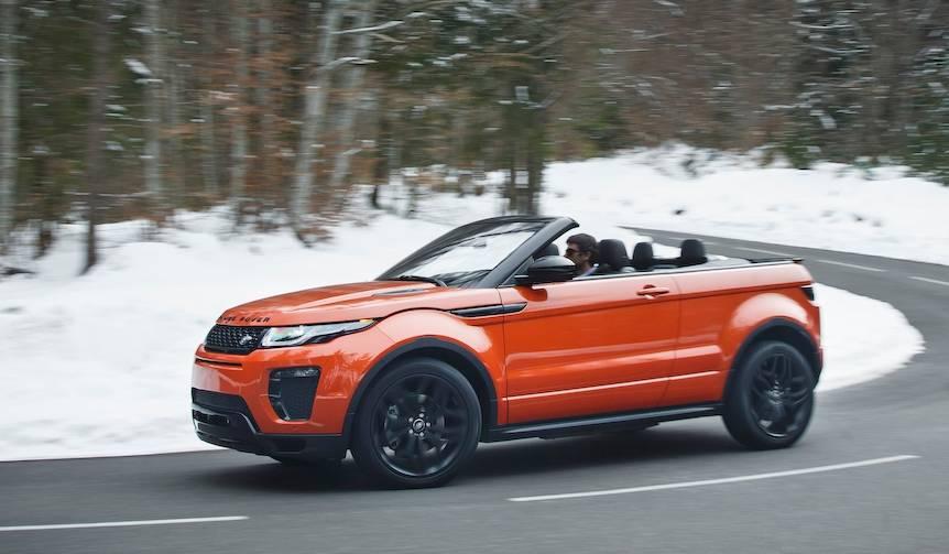 レンジローバー イヴォーク コンバーチブルに試乗|Land Rover
