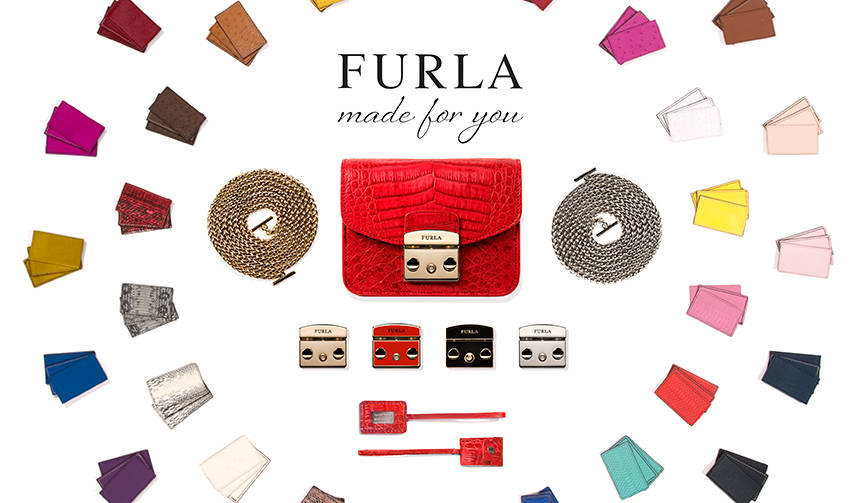 フルラ オーダーメイドプロジェクト「Made for you」開始|FURLA