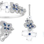 アジサイが咲き誇る、ショーメ「オルタンシア」 コレクション|CHAUMET
