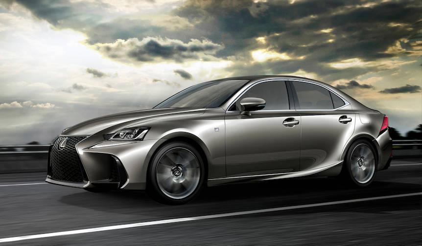 北京でISのフェイスリフトモデルをワールドプレミア|Lexus