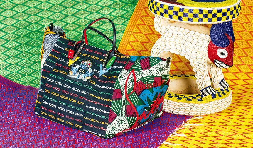 セネガルの女性のためのチャリティーバッグを発売|Christian Louboutin