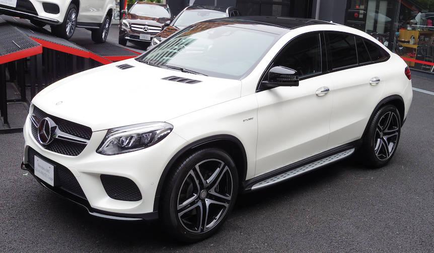 メルセデス初のSUVクーペ「GLE Coupe」日本発売|Mercedes-Benz