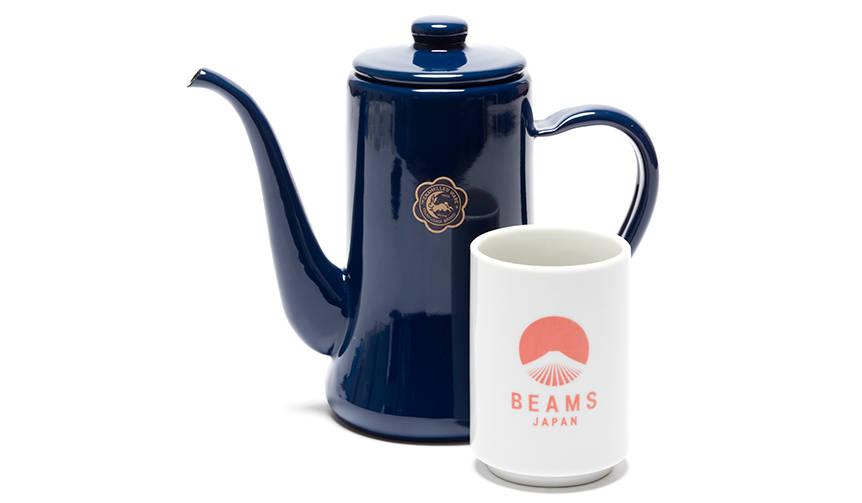 大人気のスリムポットがキーカラーの美しい藍色に BEAMS JAPAN
