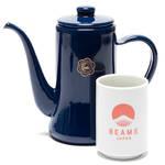 大人気のスリムポットがキーカラーの美しい藍色に|BEAMS JAPAN