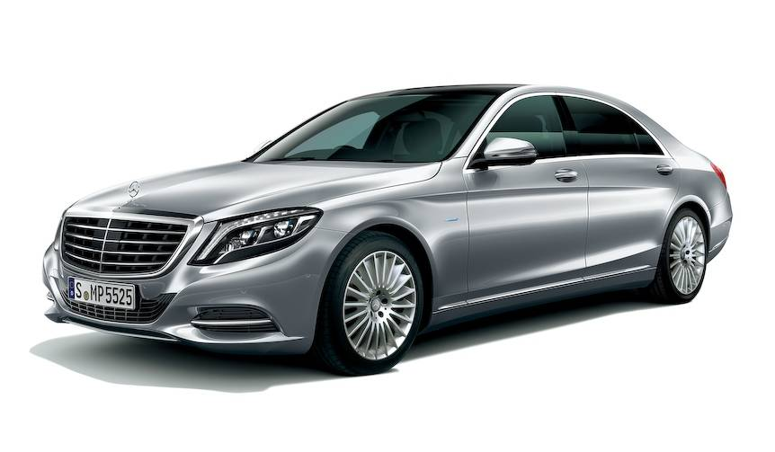 「S 550 e long」が、よりPHVを強調するデザインに Mercedes-Benz