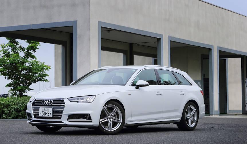 新型アウディ A4 アバントに試乗 Audi