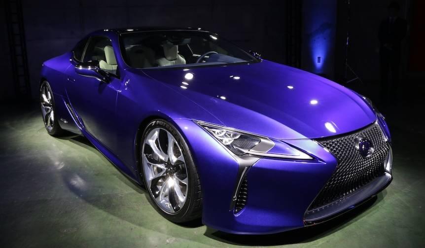 レクサスのフラッグシップクーペ「LC」日本初公開|Lexus