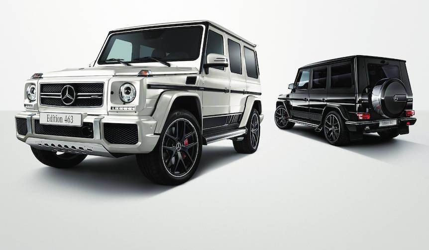 Gクラスの頂点に立つ希少な特別仕様車|Mercedes-AMG