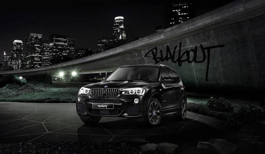 """BMW100周年を祝した限定車「X3セレブレーション エディション""""ブラックアウト""""」 BMW"""