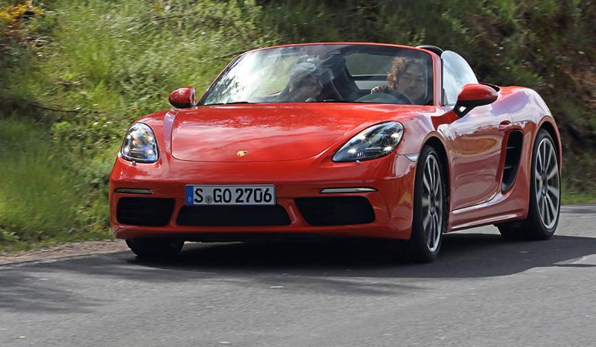 ポルシェ 718ボクスターに試乗 Porsche