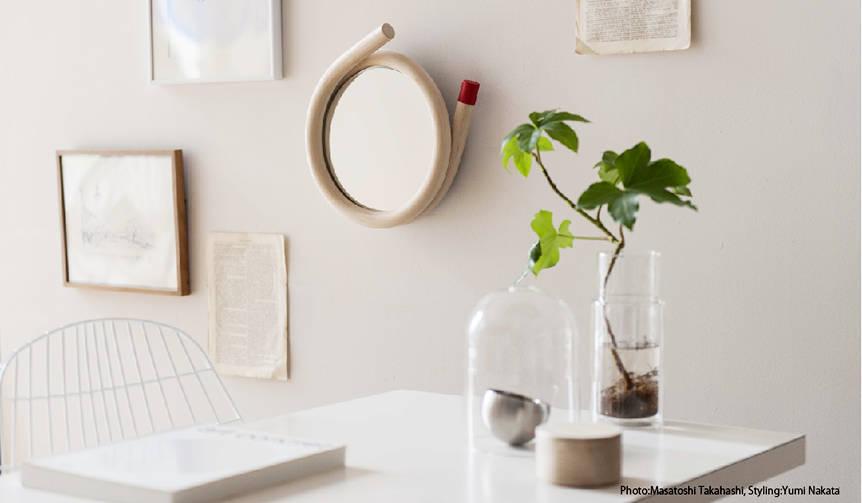 トラフ建築設計事務所と壁掛けのミラーを製作|METROCS|METROCS