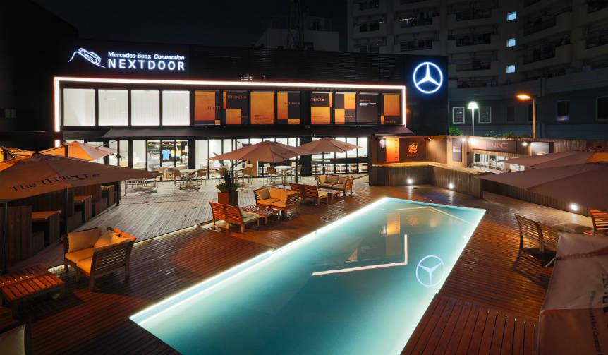 メルセデス・ベンツ コネクション ネクストドアに、ビアテラスがオープン|Mercedes-Benz