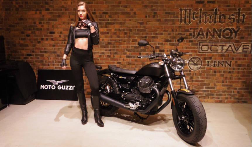 クラシカルなルックスとテクノロジーの融合 Moto Guzzi