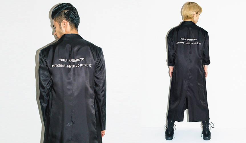 ヨウジヤマモト 1986パリコレクションのスタッフコートを販売!?|Yohji Yamamoto