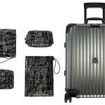 「モンクレール & リモワ」ファン歓喜のコラボスーツケースが発売!|MONCLER & RIMOWA