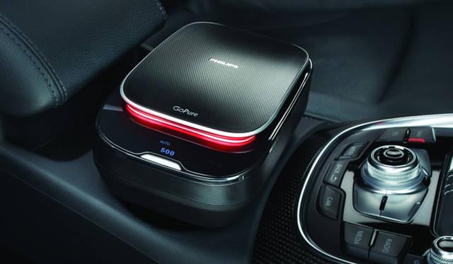 約13分で自動車内をクリーンな環境に。自動車専用空気清浄機の最新型|Philips
