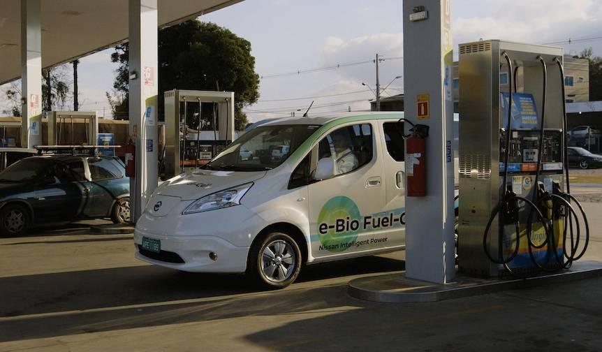 日産、エタノールで走る燃料電池車のプロトタイプを発表 Nissan
