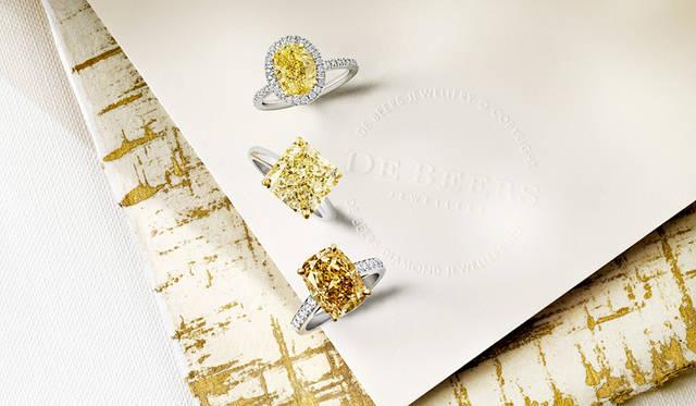 デビアス 真夏の夢を紡ぐ魅惑のカラーダイヤモンド|DE BEERS
