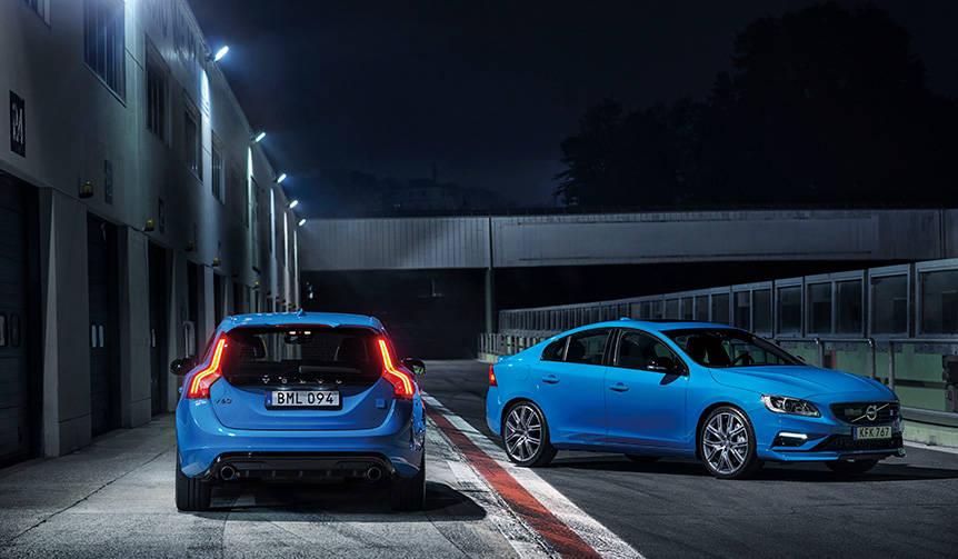 S60 ポールスターとV60 ポールスターを100台限定で発売|Volvo