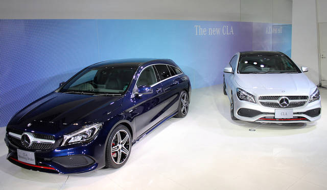 メルセデスベンツCLAファミリーがフェイスリフト|Mercedes-benz ギャラリー