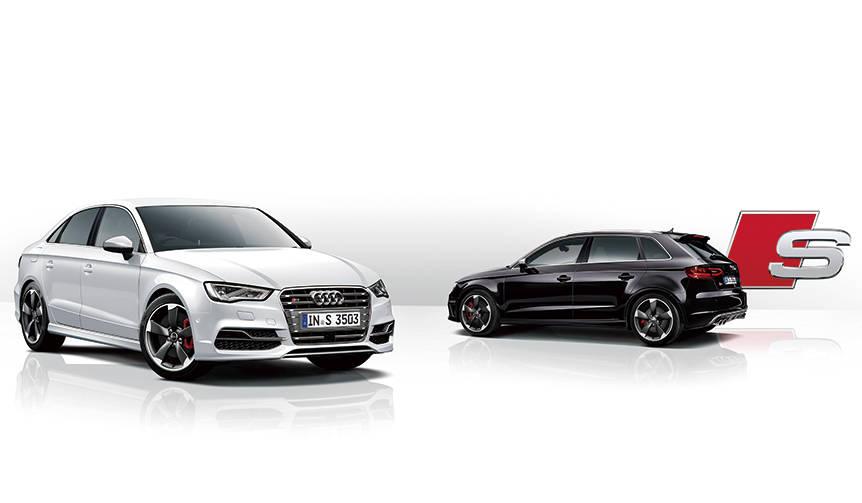 アウディS3にスポーティな限定モデルが登場 Audi