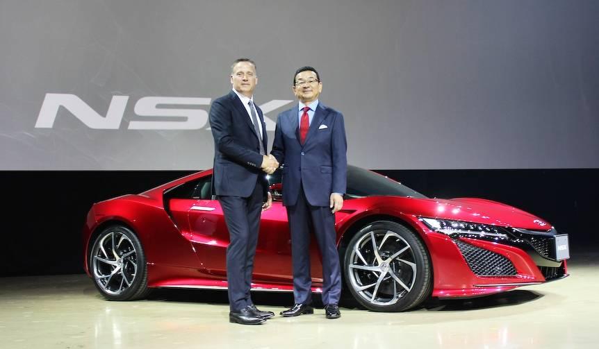 ついに復活! ホンダNSXが日本でも正式発表 Honda