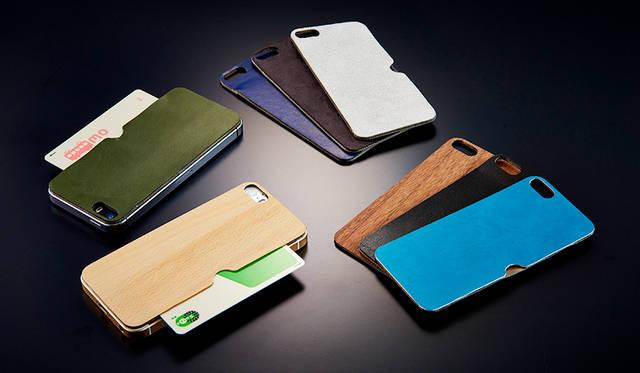 デザインと機能を兼備。iPhone SE/5s/5の背面用テクスチャーシート|Simplism