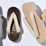 日本の伝統と現代の素材を活かした桐下駄「みかも木履」 MIKAMO MOKURI