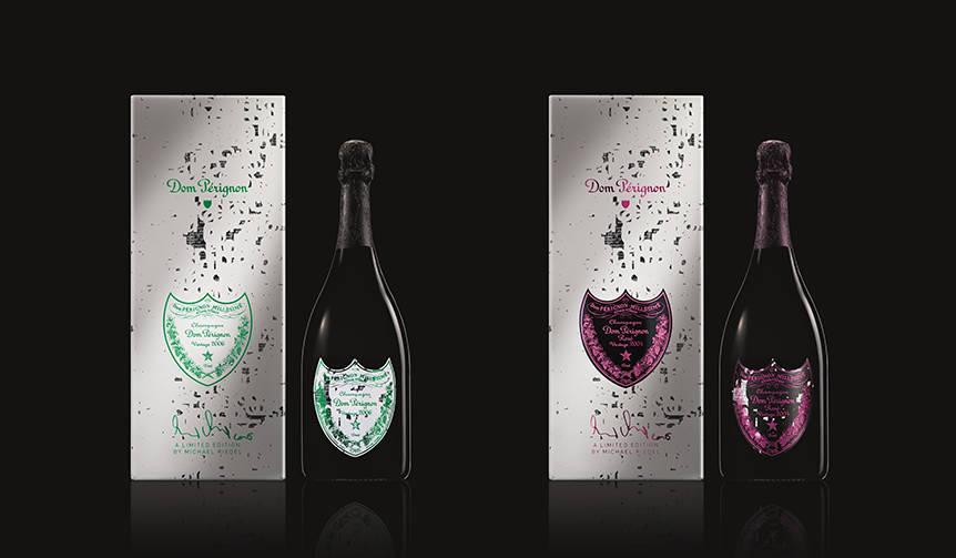 ミハエル・リーデルとコラボレーションした期間限定ギフトボックスを発売|Dom Pérignon