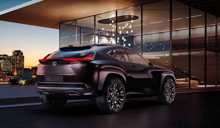 レクサスSUVの新型コンセプト「UX」をパリで発表 Lexus