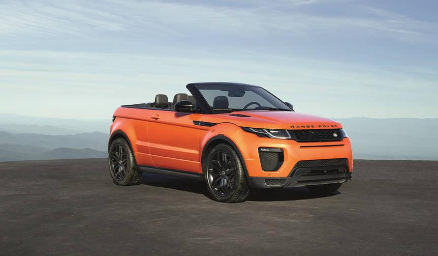イヴォーク第7のモデル、コンバーチブルの受注を開始 Range Rover