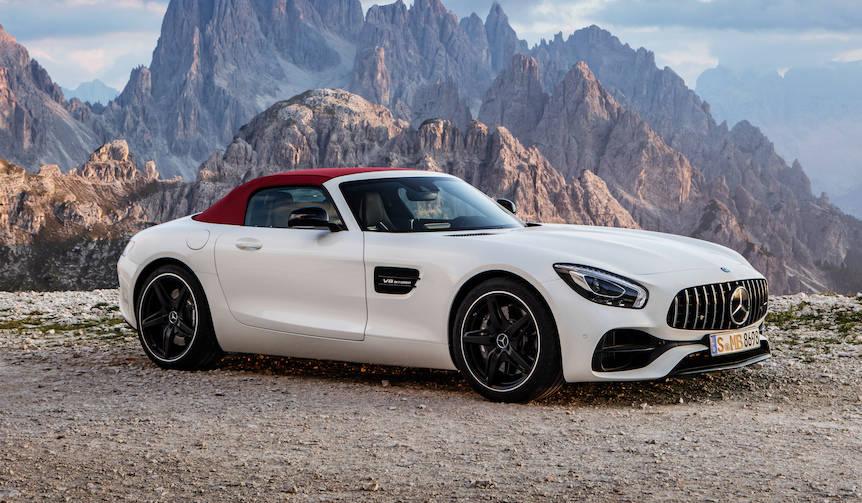 AMG GTのオープンバージョンが登場 Mercedes-AMG