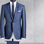 コンテンポラリーさを加味したフルキャンバス・スーツの新作|HUGO BOSS