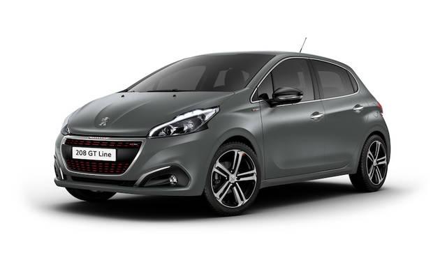 プジョー208に特別な塗装が施された限定車 Peugeot