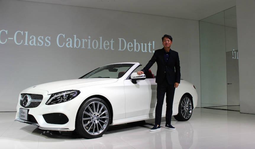 Cクラス初のカブリオレ、発売開始|Mercedes-Benz