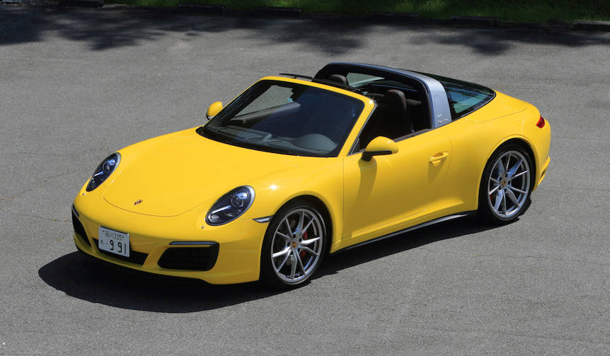 新型ポルシェ911 タルガ 4Sに試乗|Porsche