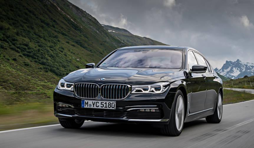 7シリーズのPHV「740e iPerformance」に試乗|BMW