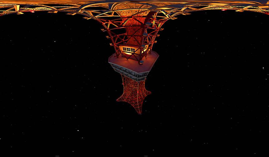 """""""見る""""のではなく、それは""""世界""""。インスタレーション「Tokyo Light Odyssey」が公開 WOW"""