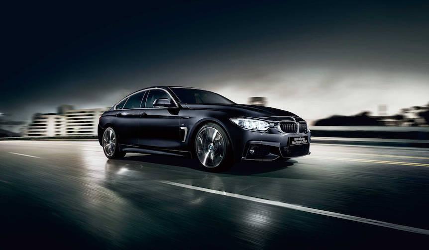 内外装をスポーティに仕上げた4シリーズ グランクーペの特別仕様車|BMW