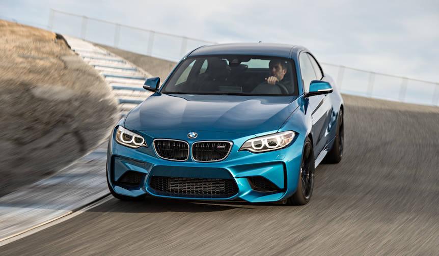 コンパクトスポーツクーペ「M2」にMTモデルを追加|BMW
