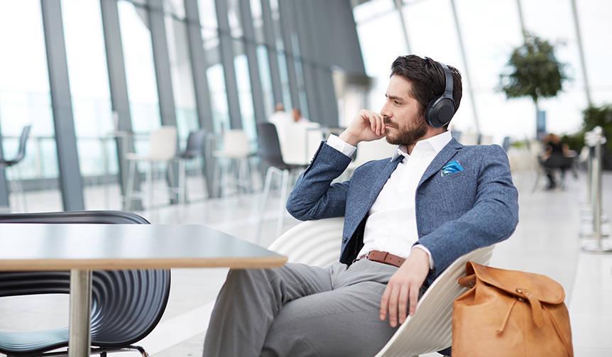 業界最高クラスのノイズキャンセリング性能を持つヘッドホン|Sony